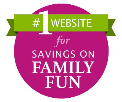#1 Website for Savings on Family Fun