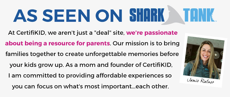 Mobile Banner: As seen on Shark Tank