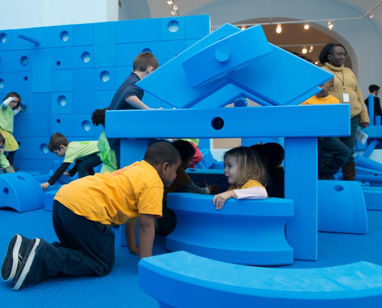 Play Work Build at National Building Museum