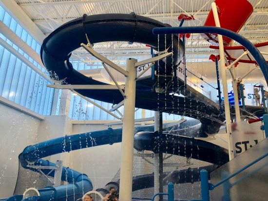 Water Slides at Indoor Waterpark at Super, Awesome & Amazing