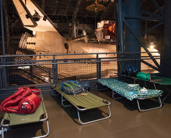 Sleepover at the Smithsonian this Summer!