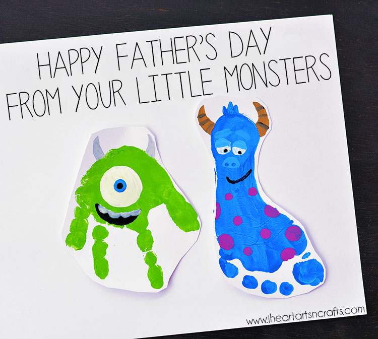 Daddy's Little Monsters Father's Day