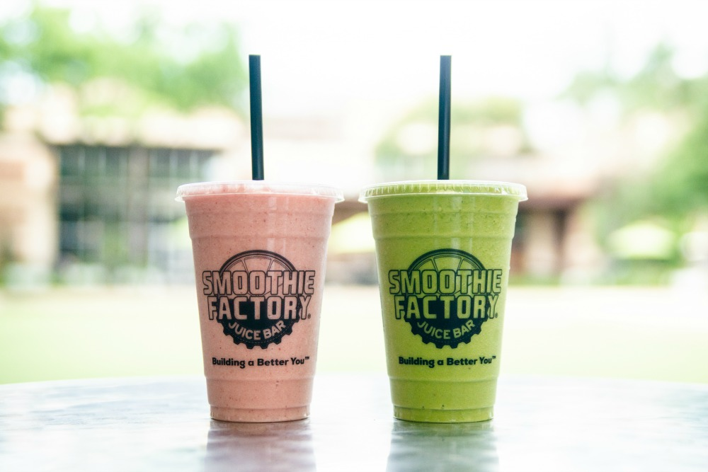 Smoothie Factory National Smoothie Day