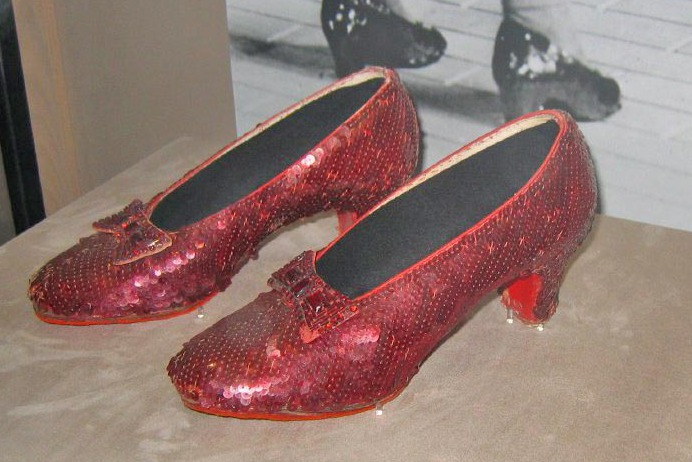 Dorothy's Ruby Slippers at the National Museum of American History