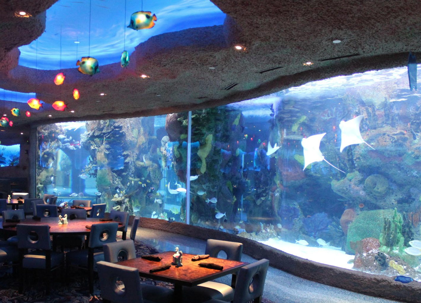 Aquarium Restaurant in Nashville