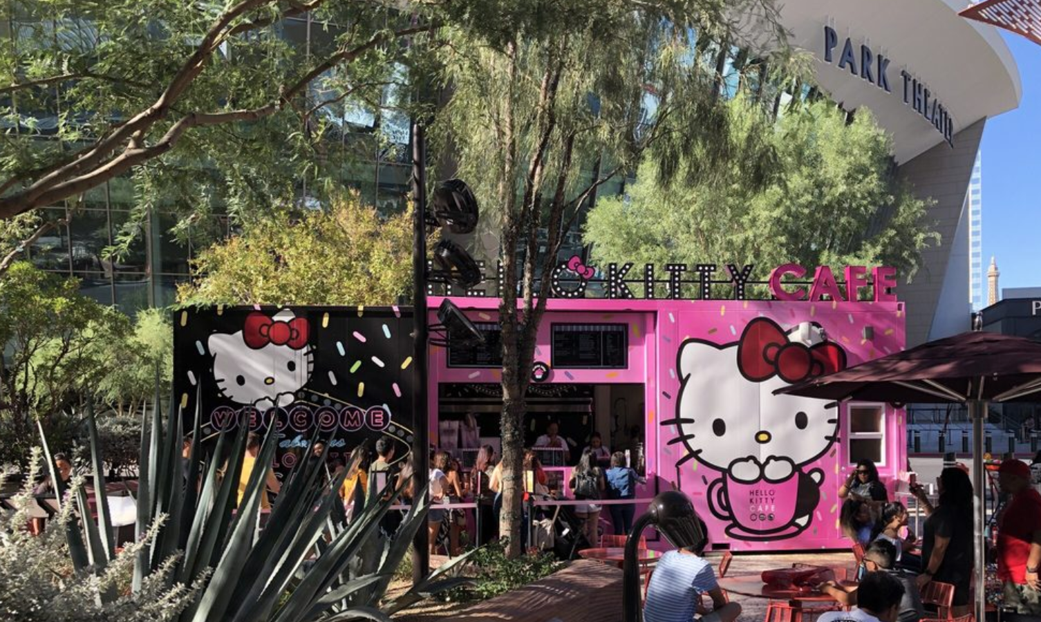 Hello Kitty Cafe in Las Vegas
