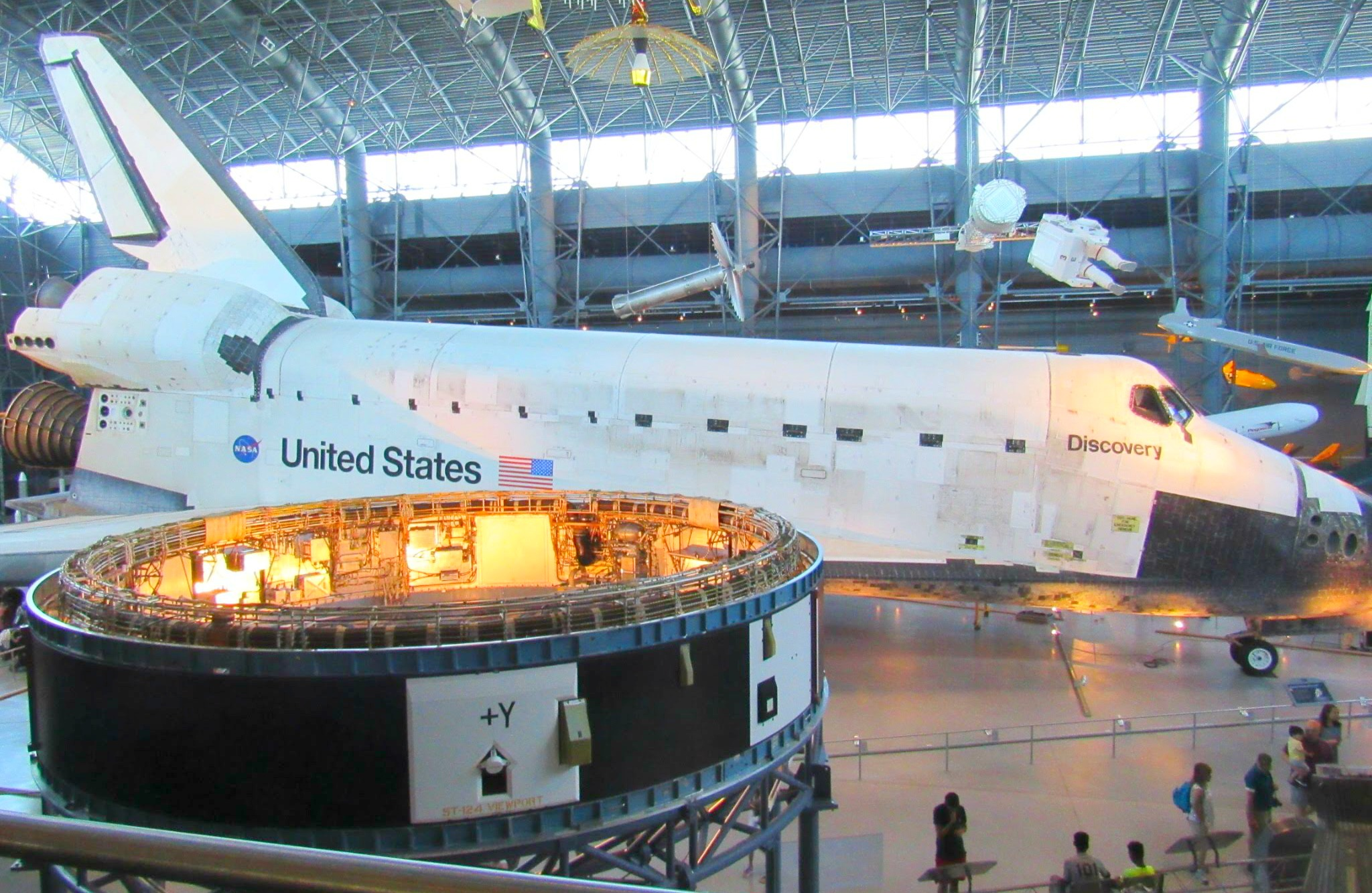 Space Shuttle Discovery at Udvar-Hazy in Chantilly