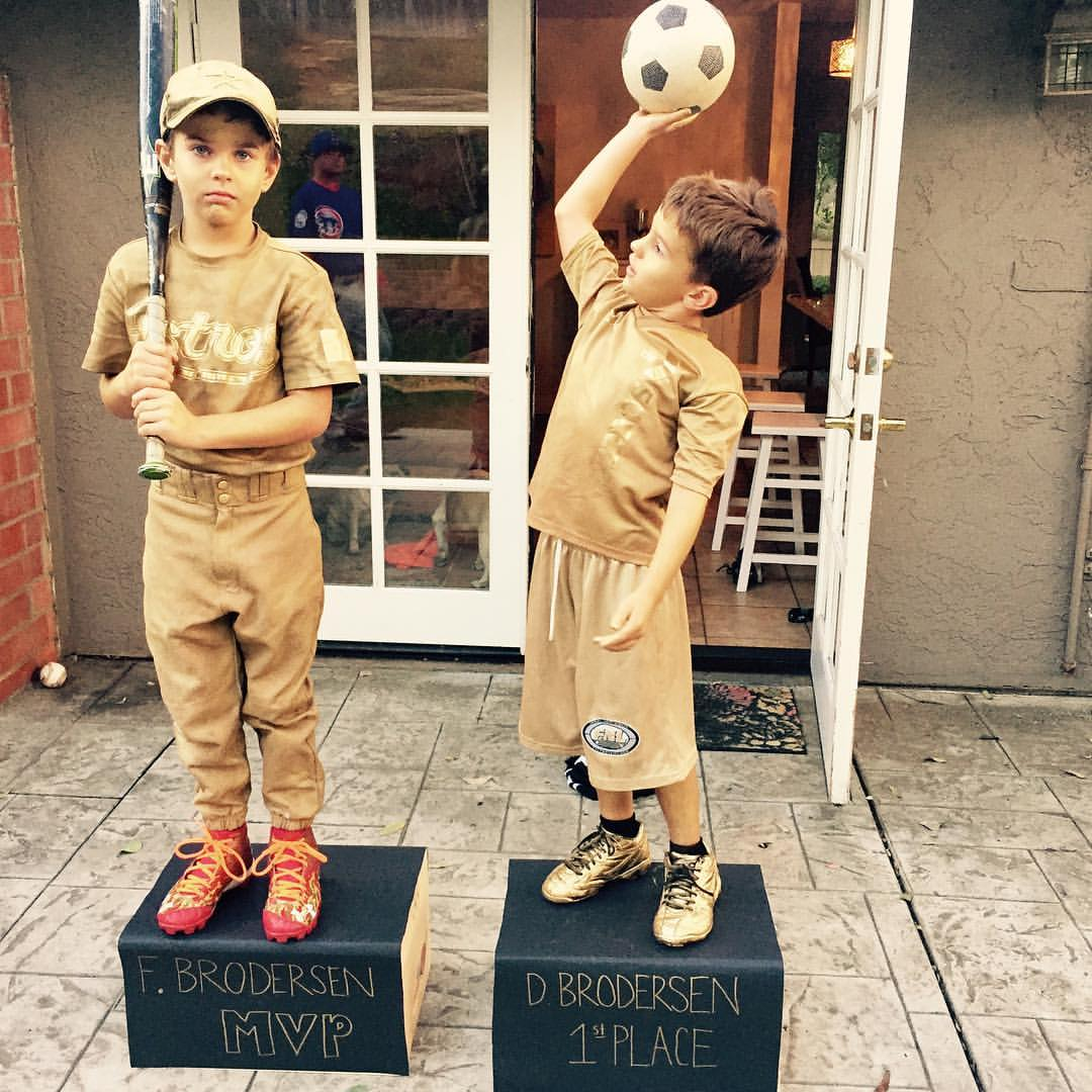 trophy costumes for Halloween